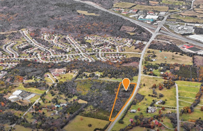 Land for Sale - Burkitt Rd & Old Hickory Blvd