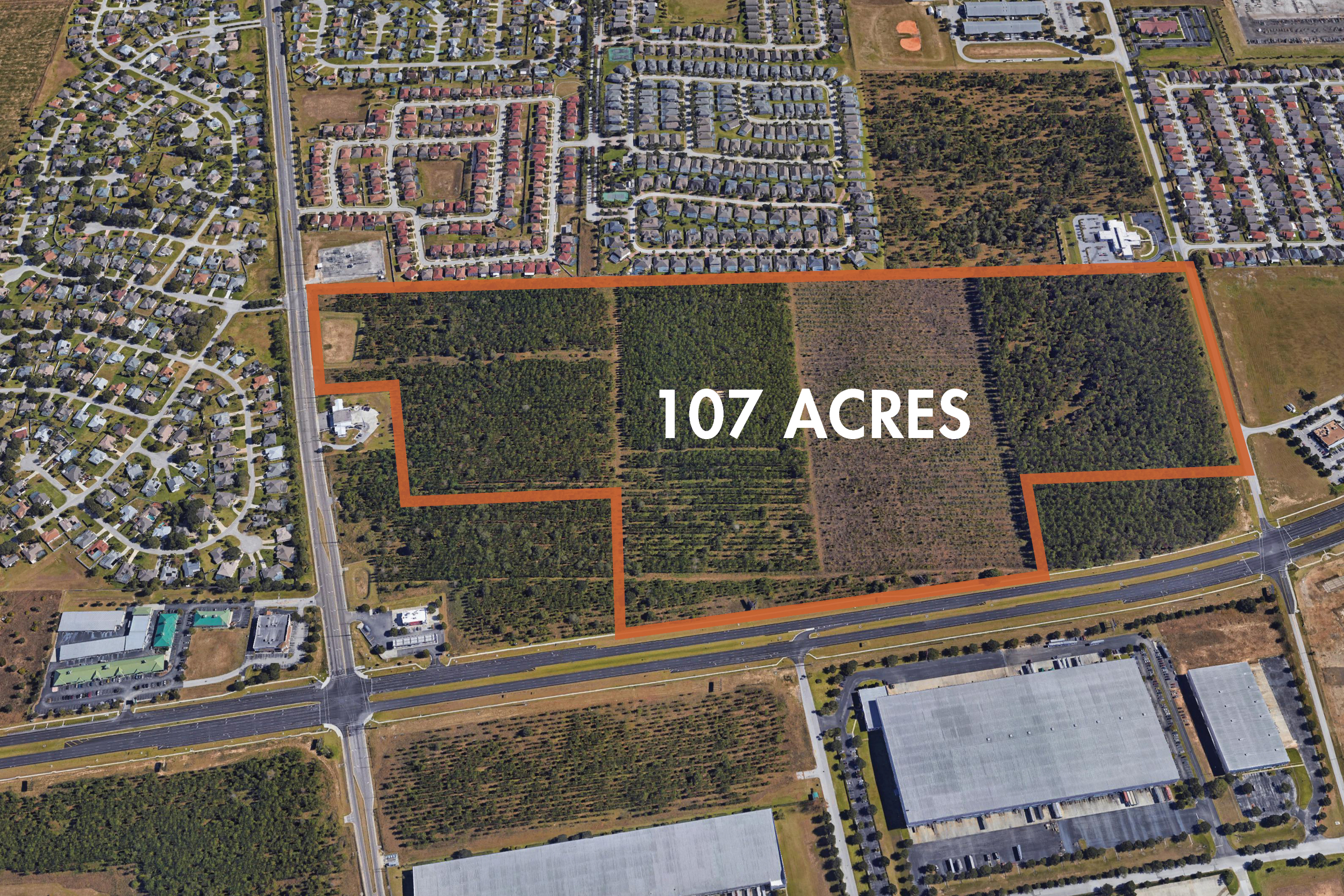 107+/- Acres For Sale