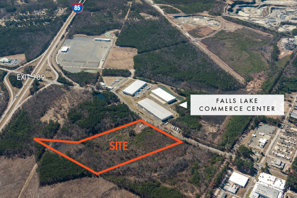 Falls Lake Commerce Center - Industrial Land