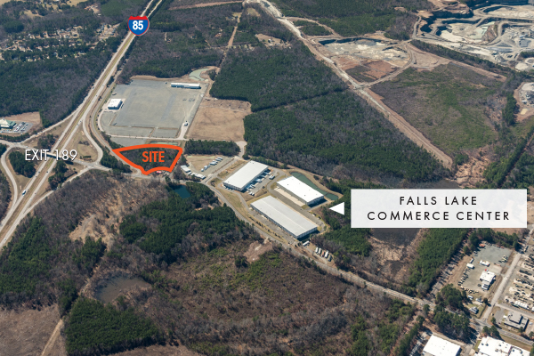 Falls Lake Commerce Center - Retail Land