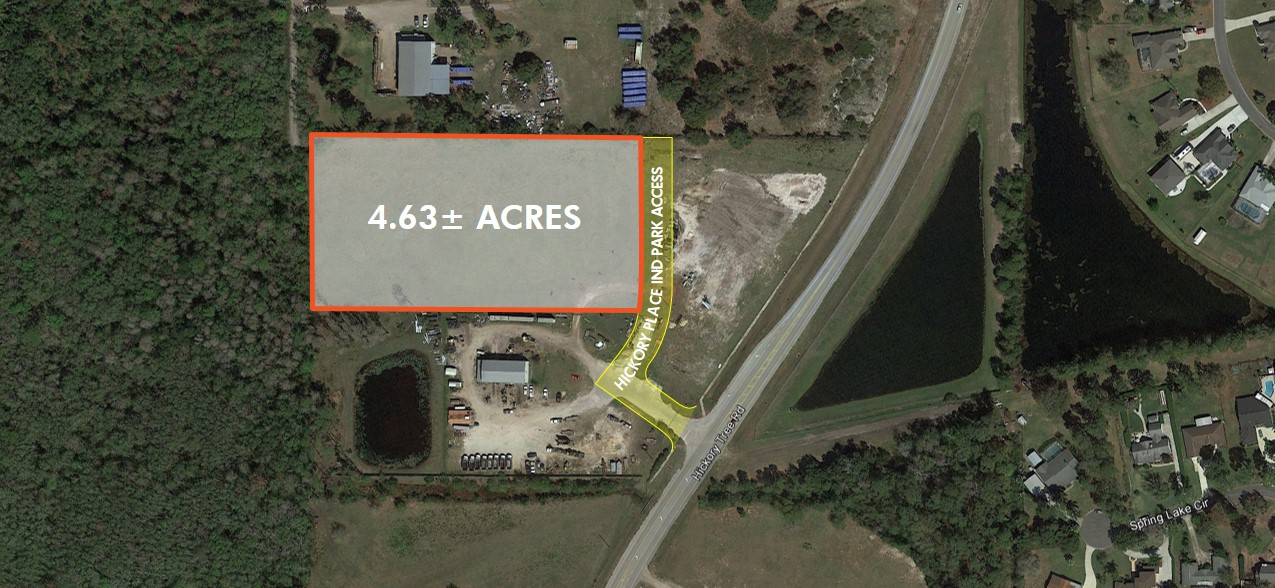 4.63± Acres Industrial Land For Sale
