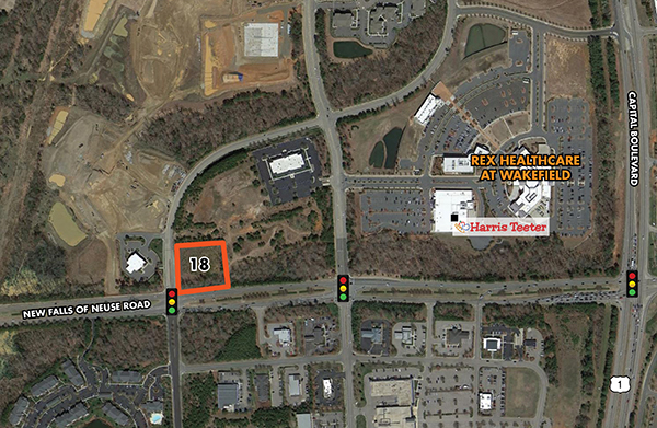 Raleigh, NC - Wakefield Commons & Crossing Lot 18