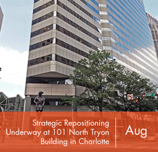 Strategic Repositioning Underway at 101 North Tryon Building in Charlotte