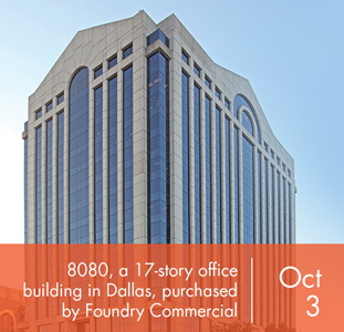 8080, a 17-story office building in dallas, purchased by Foundry