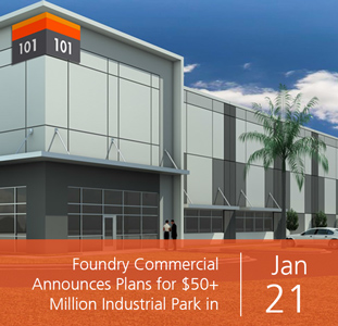 Foundry Commercial Announces Plans for $50+ Million Industrial Park in South Orlando