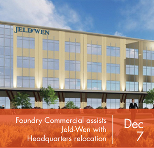 Foundry Commercial assists Jeld-Wen with headquarter relocation