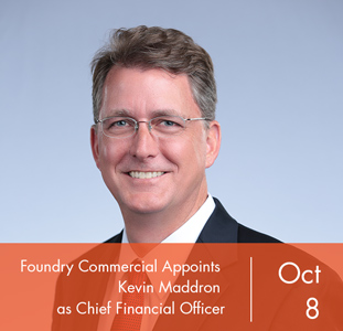 Foundry Commercial Appoints Kevin Maddron  as Chief Financial Officer