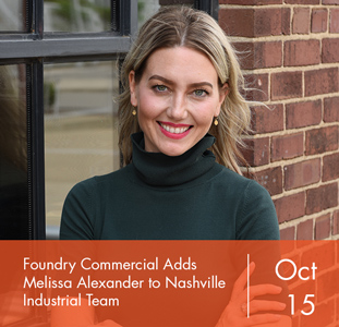 Foundry Commercial Adds Melissa Alexander to Nashville Industrial Team