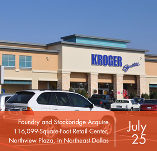 Foundry Commercial and Stockbridge Acquire 116,099-Square-Foot Retail Center, Northview Plaza, in Northeast Dallas