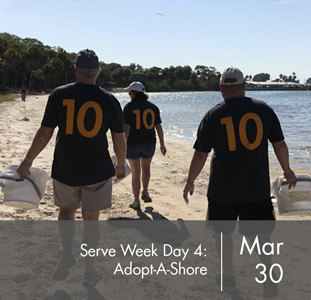 Serve Week Day Four: Adopt-A-Shore