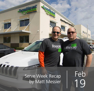Serve Week Recap by Matt Messier