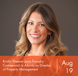 Kristin Shearer Joins Foundry Commercial in Atlanta as Director of Property Management