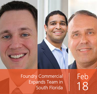 Foundry Commercial Expands Team in South Florida