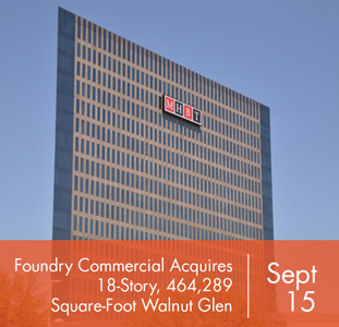 Foundry Commercial Acquires 18-Story, 464,289 Square-Foot Walnut Glen Tower in North Central Expressway Market