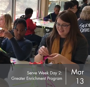 Serve Week Day 2: Greater Enrichment Program