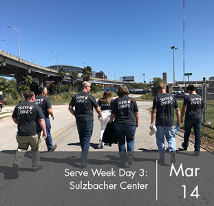 Serve Week Day 3: Sulzbacher Center