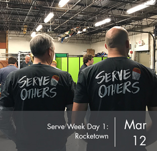 Serve Week Day 1: Rocketown