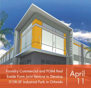 Foundry Commercial and PGIM Real Estate Form Joint Venture to Develop 510,000-Square-Foot Industrial Park in Orlando