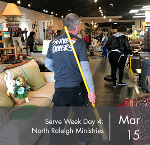 Serve Week Day 4: North Raleigh Ministries