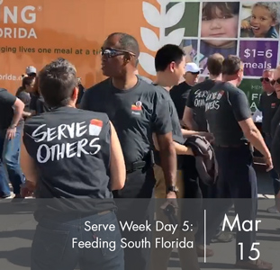 Serve Week Day 4: Feeding South Florida