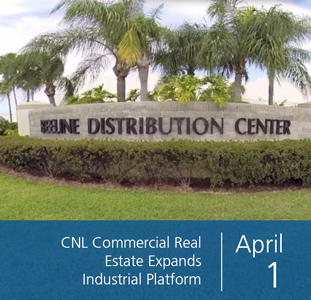 CNL Commercial Real Estate Expands Industrial Platform