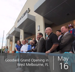 Goodwill Grand Opening in West Melbourne, FL