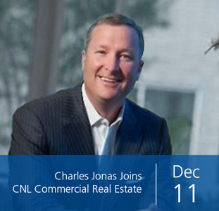 Charles Jonas Joins CNL Commercial Real Estate